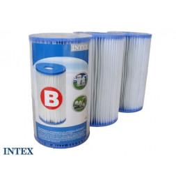 Cartouche de filtration pour piscine - Lot de 3 - type B - Intex