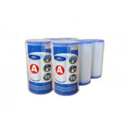 Cartouche de filtration pour piscine - Lot de 6 - type A - Intex