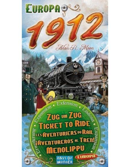 Europa 1912 - Extension pour aventuriers du rail Europe