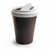 Poubelle de table en forme de tasse de café