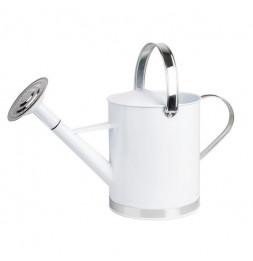Arrosoir en zinc - Blanc - 5 litres