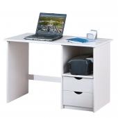 Bureau en bois - Sinus - Blanc