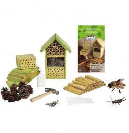 Hôtel à insectes à monter - Bois - Jardin