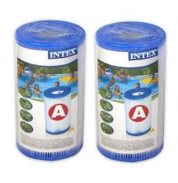 Pack de 2 cartouches de filtration type A - Intex