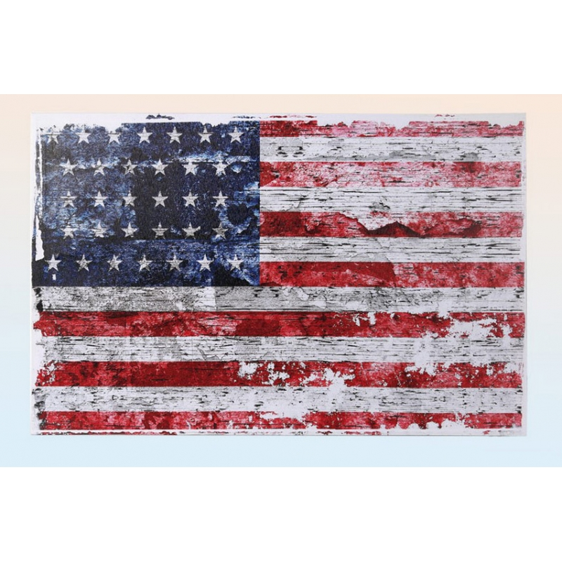 Tableau Américain - Vintage - 40 x 60 cm