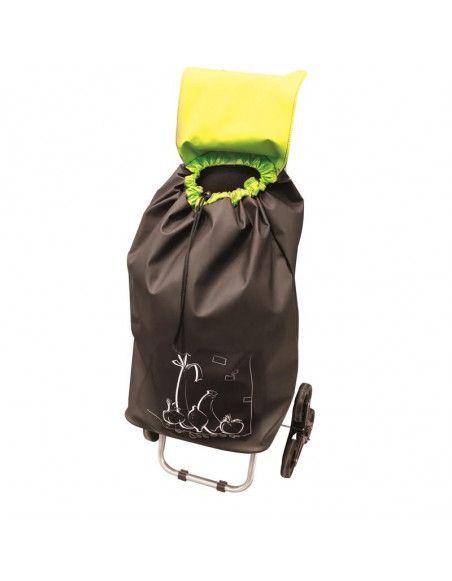 Chariot de courses - Vert  - Le club des 5