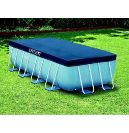 Bâche rectangulaire pour piscine tubulaire de 4 x 2 m - Intex