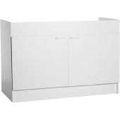 Sous Evier - 2 portes - Blanc - l 120 x P 59 x H 83 cm