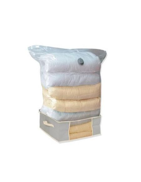 Boite de rangement avec sac sous vide 60 x 45 x 25 cm