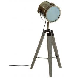 Lampe - Métal/Bois - 68 cm