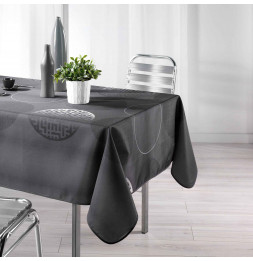 Nappe rectangle - Kosmo anthracite - 150 x 240 cm