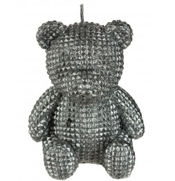 Bougie - Ours assis - 10,5 cm