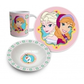 Set de déjeuner Anna - 3 pièces - La Reine des neige