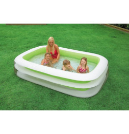 Piscine de famille Intex - Gonflable - Family Vert