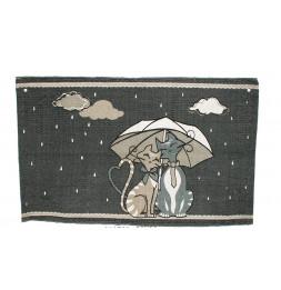 Tapis - Umbrella - L 80 cm x l 50 cm - Motifs chats