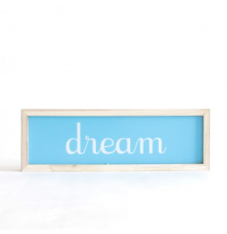 "Décoration lumineuse - "" Dream"" - Rectangle"