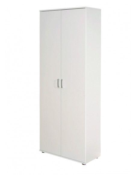 Armoire - 2 portes - Blanc