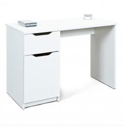 Bureau - 1 tiroir - Blanc