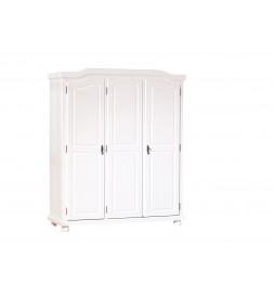 Armoire - 3 portes - Blanc