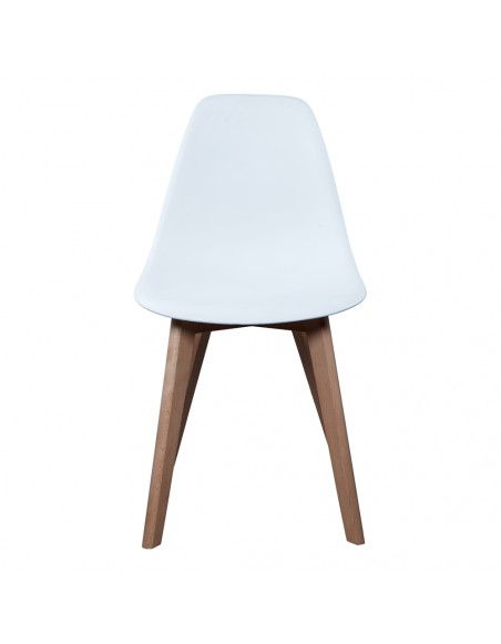Chaise scandinave - Blanc