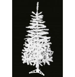 Sapin de Noël artificiel - 150 cm - Blanc