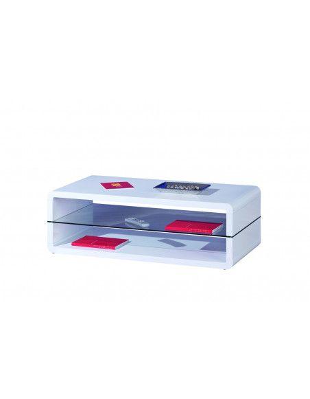 Table basse - Blanc