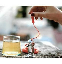 Infuseur à thé - Plongeur - Rouge