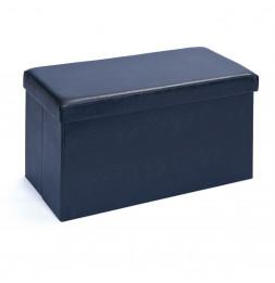 Boîte pliable - Rectangulaire - Bleu