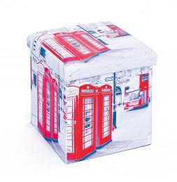 Boîte pliable - Imprimé cabines Londres