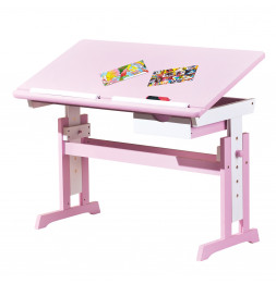 Bureau - Enfants - Rose