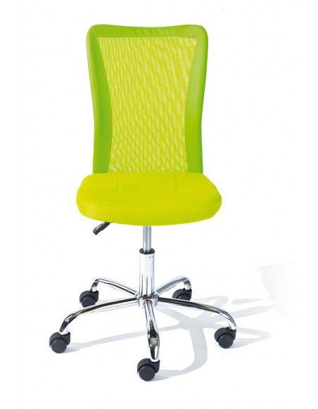 Chaise de bureau enfant - Bonnie - Vert