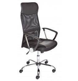 Chaise de bureau - Torino - Noir