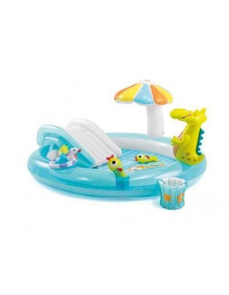 Aire de jeu alligator - Gonflable - Intex