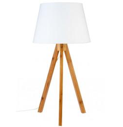 Lampe - Bahi - Blanc- H 55 cm