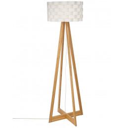 Lampe Bambou papier Moki - H 150 cm