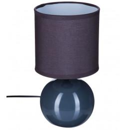 Lampe - Céramique - Gris - H 25 cm