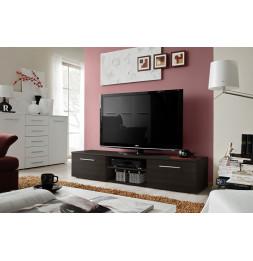 Banc TV - Bono II - 180 cm x 37 cm x 45 cm - Wengé
