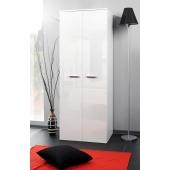 Armoire-penderie - 2D - 70 cm x 55 cm x 190 cm - Blanc