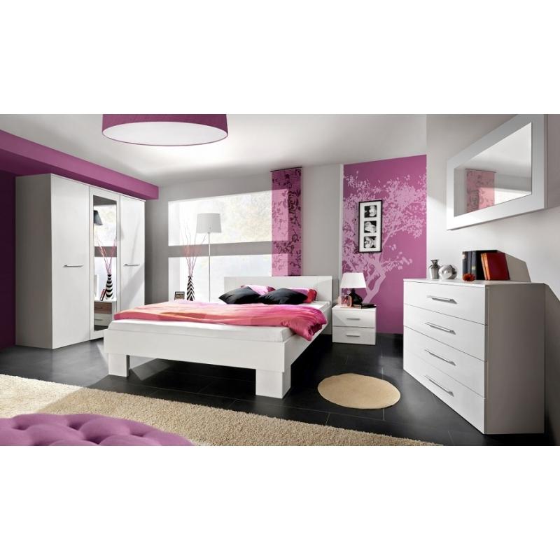 Ensemble de meuble de chambre - VICKY II - 5 éléments ...