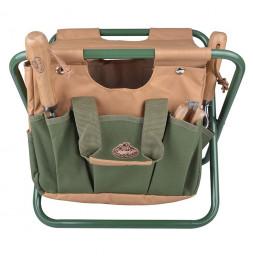 Chaise avec range-outils - Accessoire de jardinage