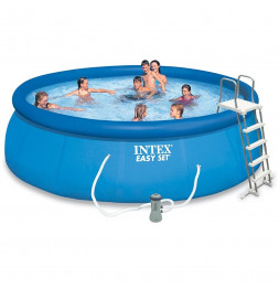 Kit piscine autoportante Easy set- 4,57 m x 1,22 m - Intex