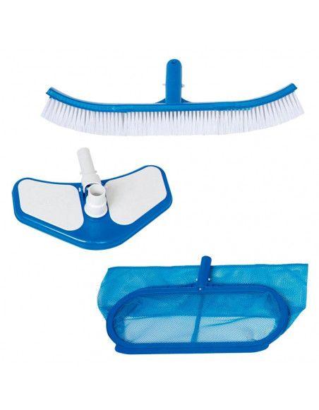 Kit de nettoyage Deluxe pour piscine - 3 accessoires - Intex