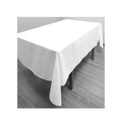 Nappe anti-tâches - 140 x 300 cm - Alix - Blanc