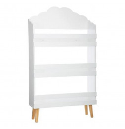 Bibliothèque nuage - 58 x 100 x 18 cm - Blanc