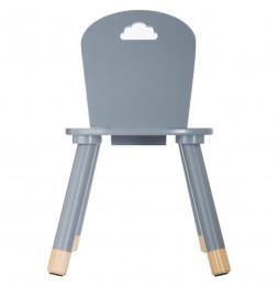 Chaise pour enfants - Nuage - 28 x 50 x 28 cm - Gris