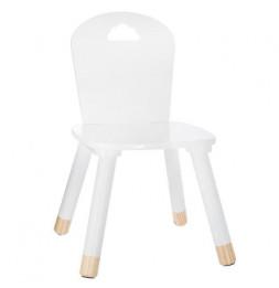 Chaise pour enfants - Nuage - 28 x 50 x 28 cm - Blanc