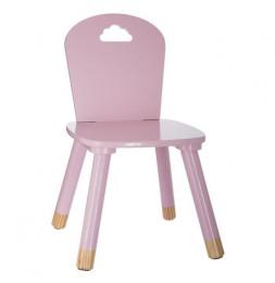 Chaise pour enfants - Nuage - 28 x 50 x 28 cm - Rose