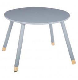Table pour enfants - Douceur - 60 x 60 x 43 cm - Gris