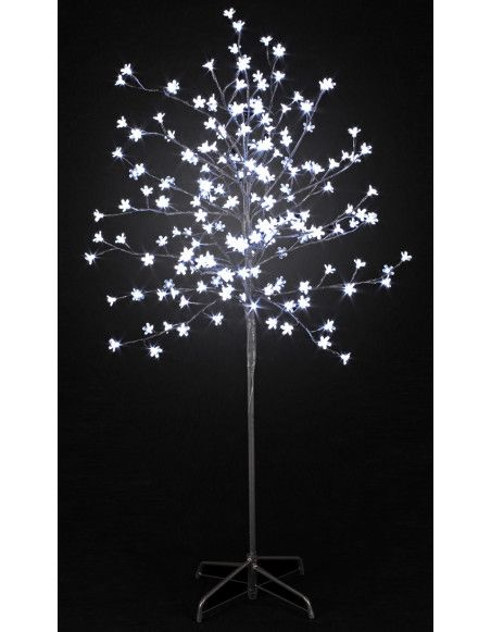 Arbre lumineux 200 LEDs - Blanc - 150 cm  - Décoration de Noël