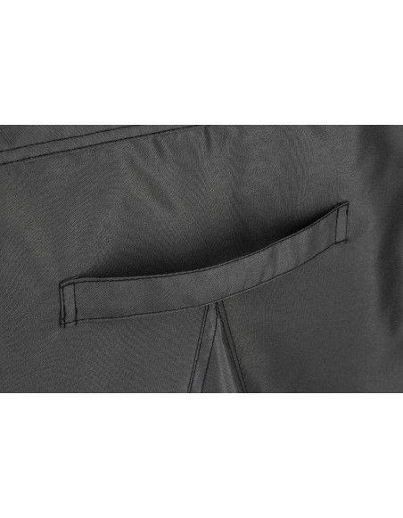 Housse de transat -  L 170 cm x P 90 cm x H 60 cm - Polyester - Gris